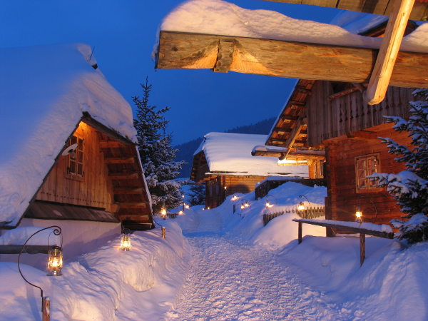 Almdorf Winter