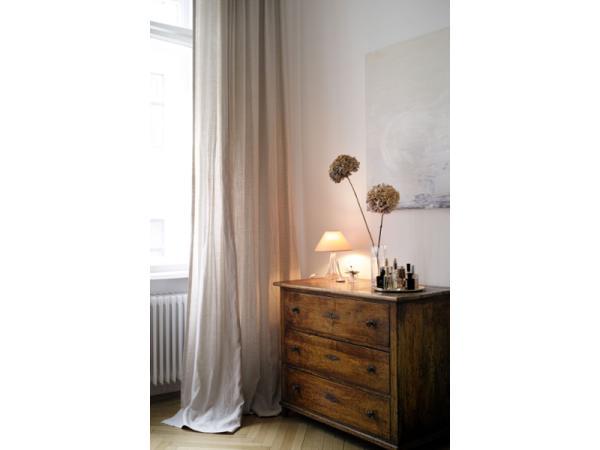 Vorschau - Vorhang aus reinem Leinen