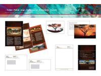 Folder, Plakat, Logo, Visitenkarten, Briefpapier, Kuverts