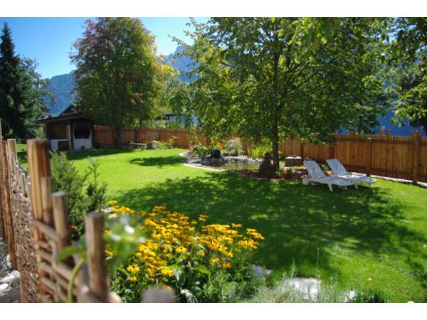 Garten - Vital-Landhotel Pfleger
