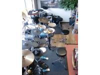 E-Drum Abteilung