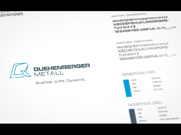 Vorschau - Entwicklung eines neuen Markenzeichens für Quehenberger Metall