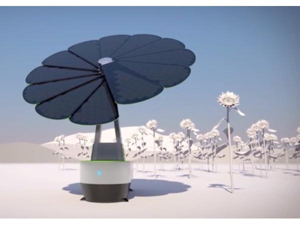 Let the sun shine. Smartflower.