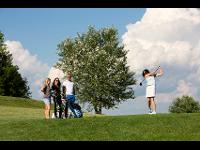 Golf in gemütlicher Runde