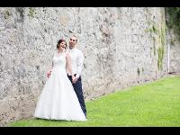 Hochzeitsfoto im Stadtgraben Freistadt