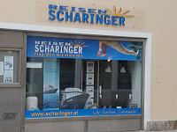 Auslage Büro Braunau Stadtplatz