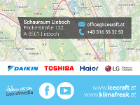 Schauraumstandort und Socialmedia Icecraft GmbH