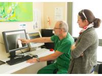 Operationsaufklärung mit der Patientin