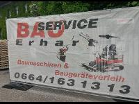 Bauservice Erhart Minibaggerverleih