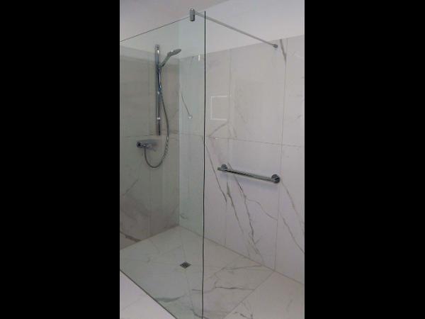 Vorschau - bodenebene Dusche