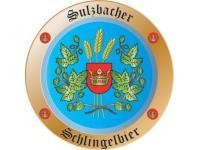 Firmenschild für Bierbrauerei