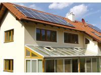 Schnauer Photovoltaik auf einem Einfamilienhaus