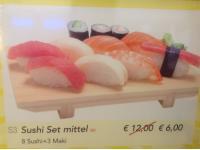 Sushi Set Mittel