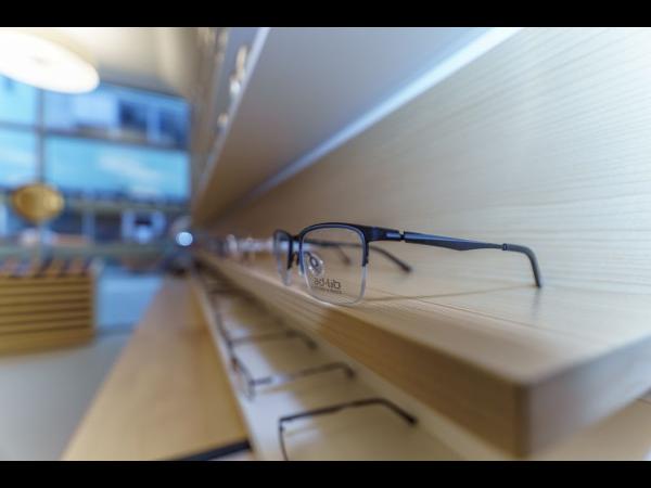 Optische Brille im Kompetenzzentrum