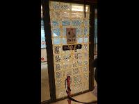 Sicherung vor Reparaturverglasung Eingangstür