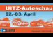 Besuchen Sie unsere Autoschau am 2. und  3. Aprill 2016