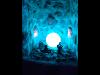 Lichtspiele in der Salzgrotte