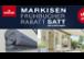 Markisen Frühbucher - Rabatt