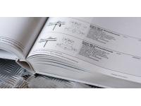 Katalog mit Buchbindung