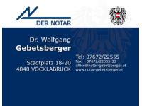 Gebetsberger Wolfgang Dr.