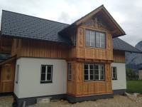 Wohnhausneubau Holzbauweise