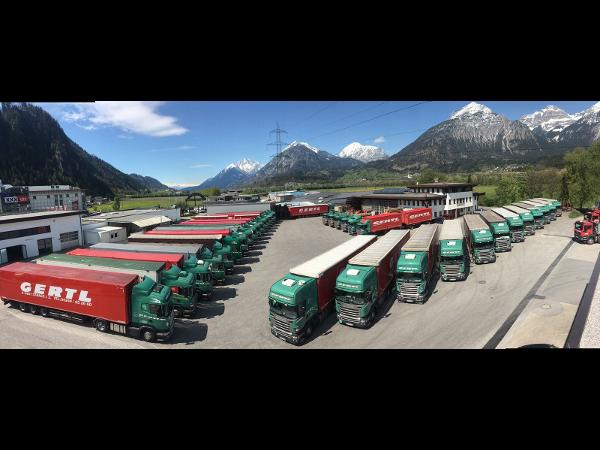 Fa. Gertl-Transporte im Frühjahr 2017