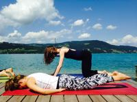 Yoga mit Gisela am See!