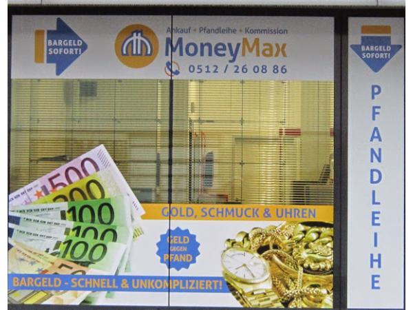 Vorschau - MoneyMax Pfandleihe in Innsbruck/Neu-Rum