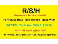 R/S/H Reparatur von Hausgeräten aller Marken