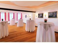 Der Rosa Salon (Veranstaltungsraum), Hotel Goldener Hirsch
