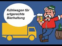Kühlwagen für artgerechte Bierhaltung