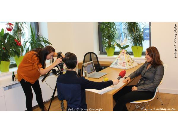 Tirol TV Team zu Gast bei Edburg Edlinger, der Ernährungsberaterin & Diätologin