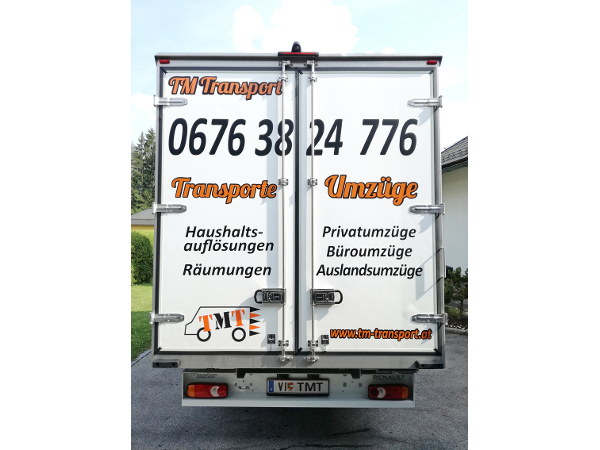 Vorschau - Möbelwagen