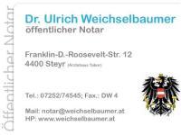 Weichselbaumer Ulrich Dr