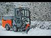 Thumbnail Stangl Kommunalmaschine Hako Citymaster 600 mit Schneepflug