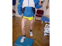 Beinachsentraining mittels  Muskelstimulation