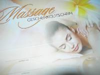 Massage - Geschenkgutschein