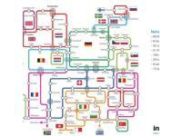 Das Netzwerk von Interoute