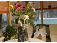 Entspannung pur im 300 m2 großen Wellnessbereich