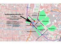 Lageplan/Stadtplan modifiziert nach www.wien.gv.at/stadtplan