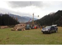 Forstarbeiten in Piesendorf