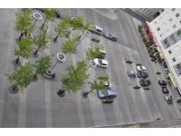 hoteleigener Parkplatz