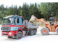 Brunader Johannes, Transporte, Erdbau und Steinbruch