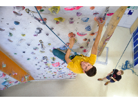 Top-Rope Klettern im CAC