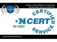 EN 15927 Zertifizierung