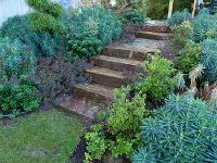 Treppe aus Stainzer Hartgneis