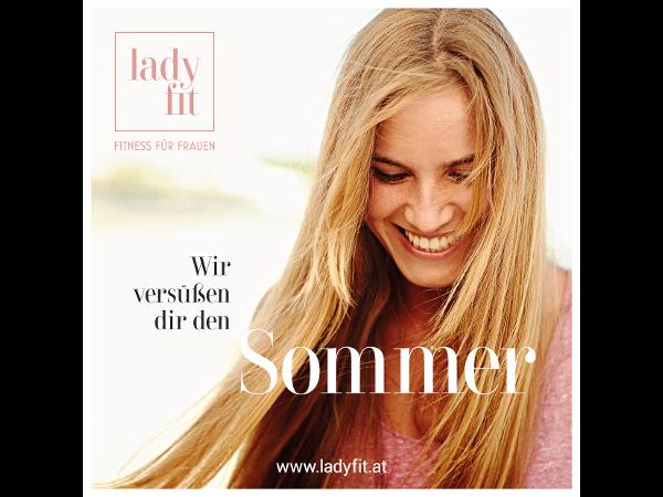 Trainiere bis zu zwei Monate kostenlos mit der LadyFit Sommeraktion