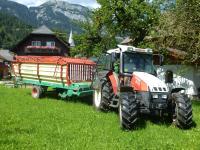 Unterwegs mit dem Traktor