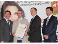 Überreichung Zertifikat ausgezeichneter Direktberater Mai 2013