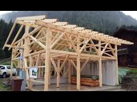 Wirtschaftsgebäude in Holzbauweise